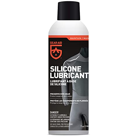 Gear Aid Silicone Spray - Neoprene Protectant & Lubricant