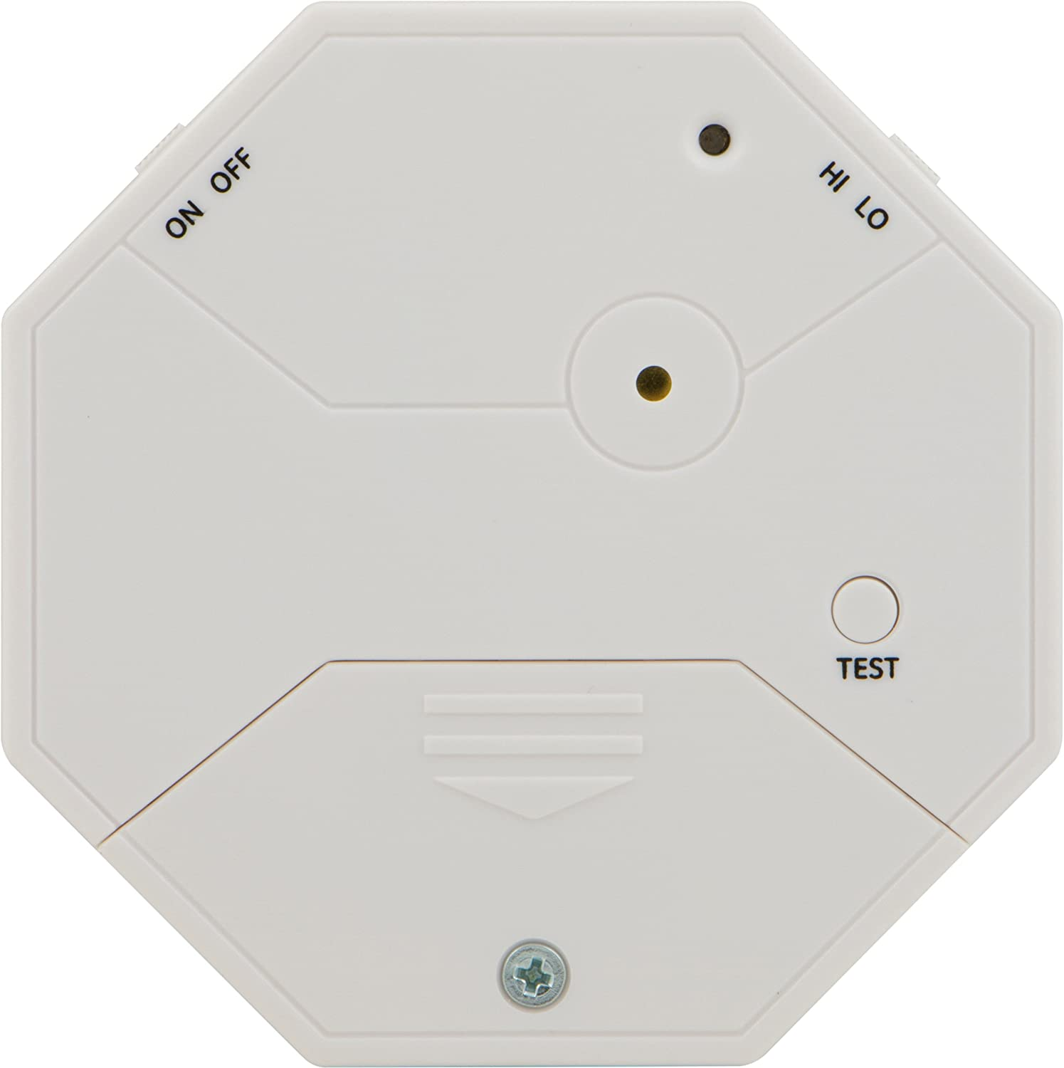 GE Personal Security Glass Vibration Alarm, Detects Vibration or Broken Glass, Easy to Use, Easy to Install, 45413