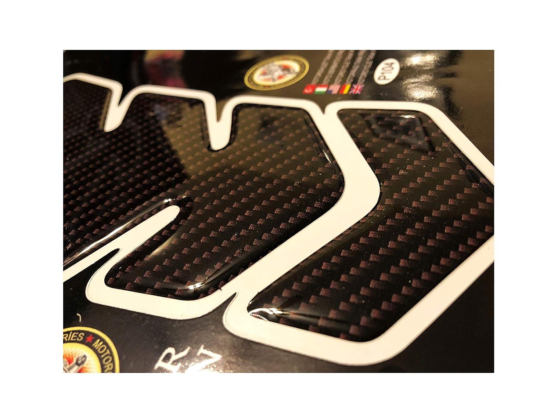 3D Motorcycle Motorbike Racing Fuel//Oil//Gas Tank Decals vinyl and gel sticker Pad Gas Cap Carbon Fiber Tank Pad Protector For Honda Suzuki Kawasaki Yamaha TNKP019 Blue