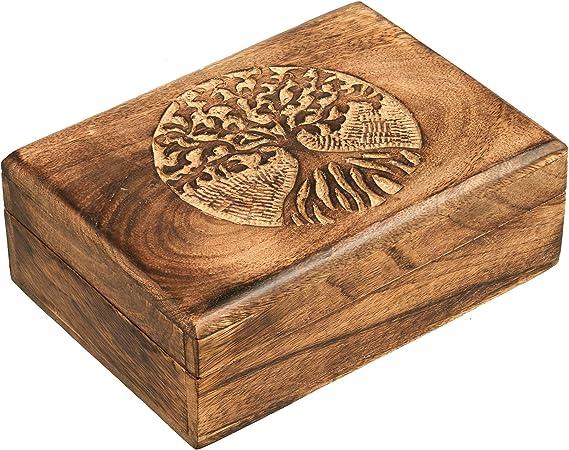 Wooden jewelry box men painted lion trinket keepsake storage organizer treasure rustic craft unique decor handmade decoupage decorative
