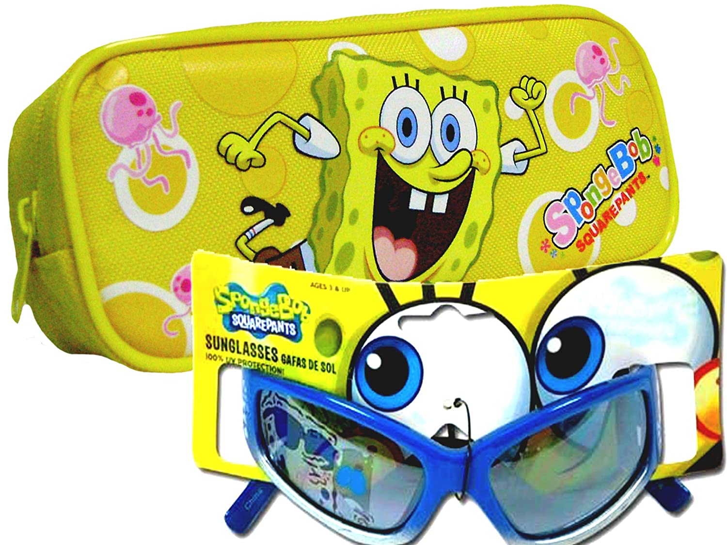 Amazon.com: Sponge Bob Sun Glasses and Case Set for Kids ...