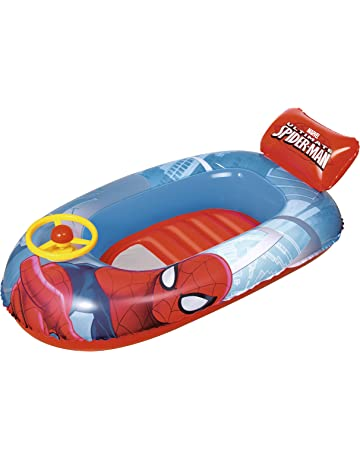 Bestway-21502 98009b-barca Spiderman 112cm, M Kovyx Outdoor Amazon ES 98009