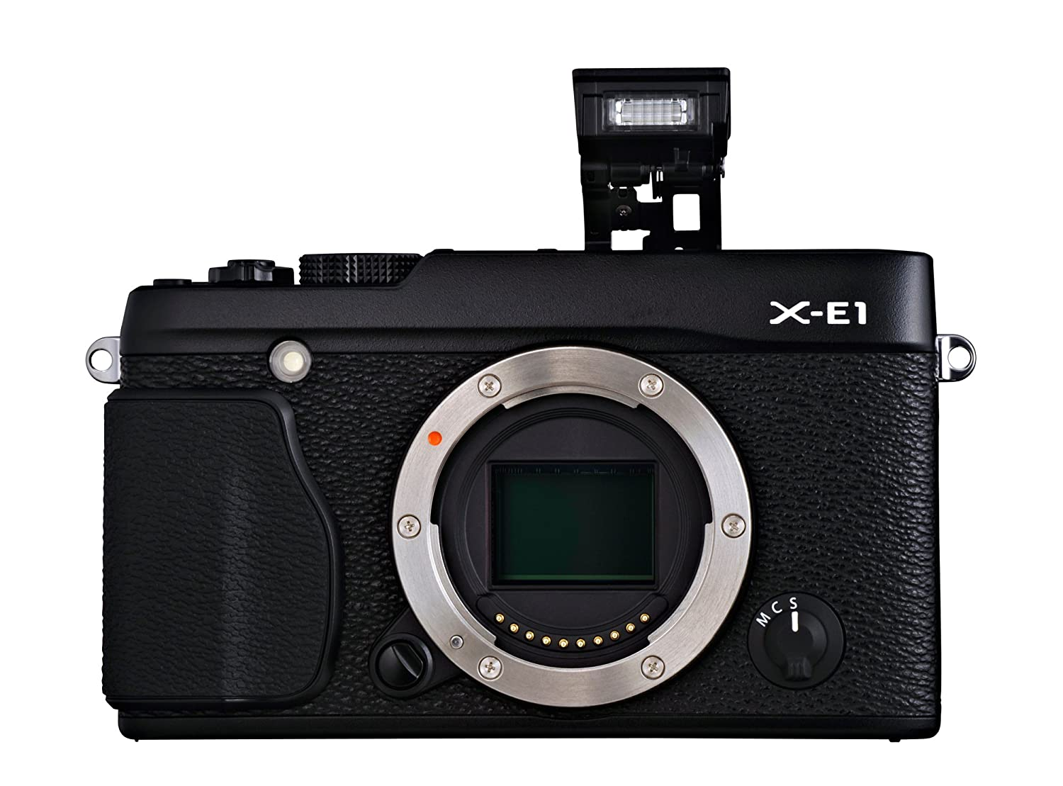 Amazon.com : Fujifilm X-E1 16.3 MP Compact System Digital Camera with  2.8-Inch LCD - Body Only (Black) : Camera & Photo