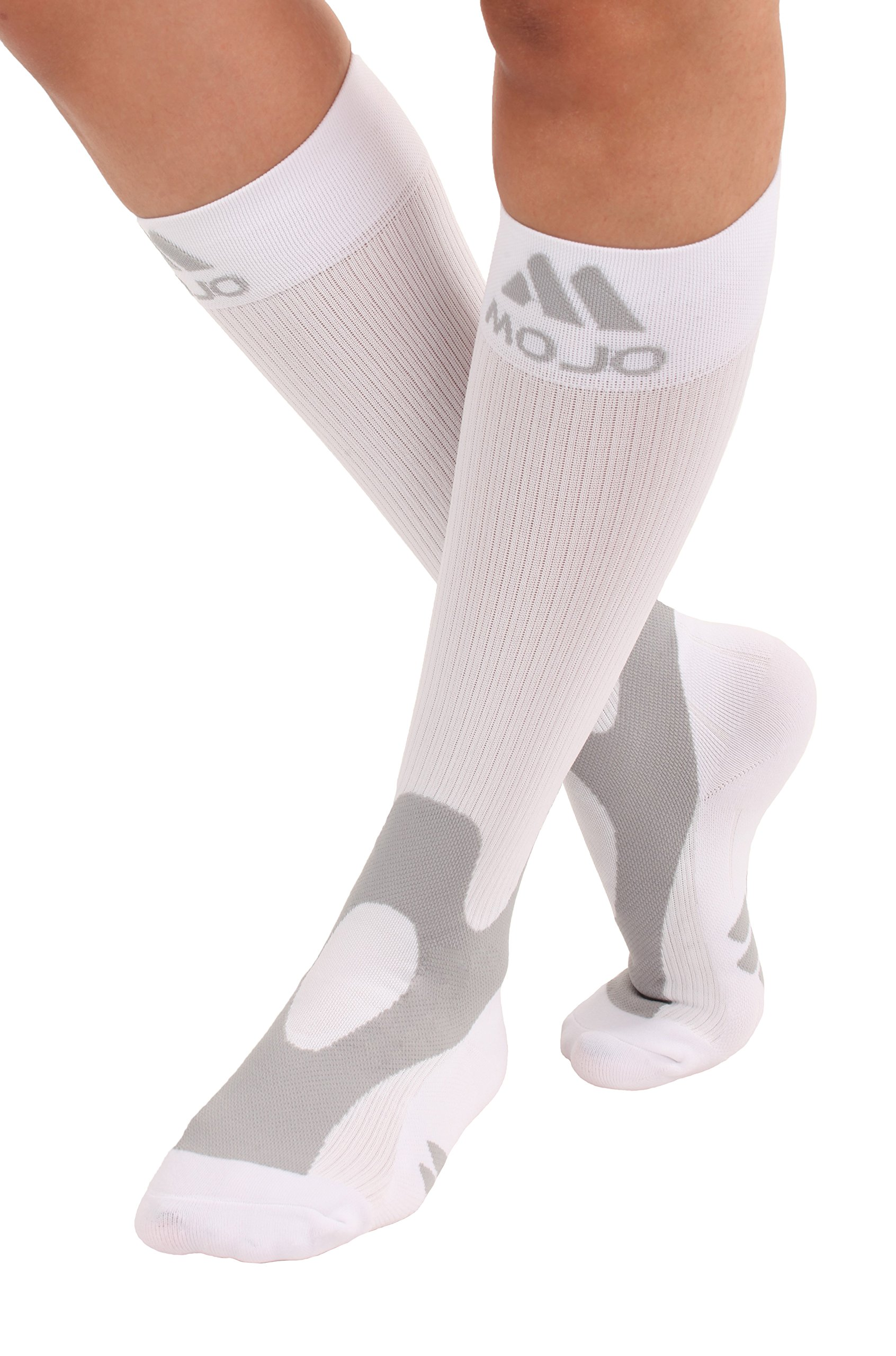88f3d86f55 Amazon.com: Mojo Compression Socks 20-30 Made with Coolmax and Soft ...