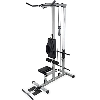6dd76d5509d3 Amazon.com   Valor Fitness CB-12 Plate Loading LAT Pull Down Machine ...