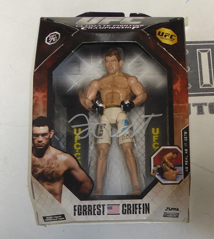 Autographed UFC Miscellaneous Products Forrest Griffin Signed UFC 76 Jakks Pacific Action Figure PSA//DNA COA Autograph