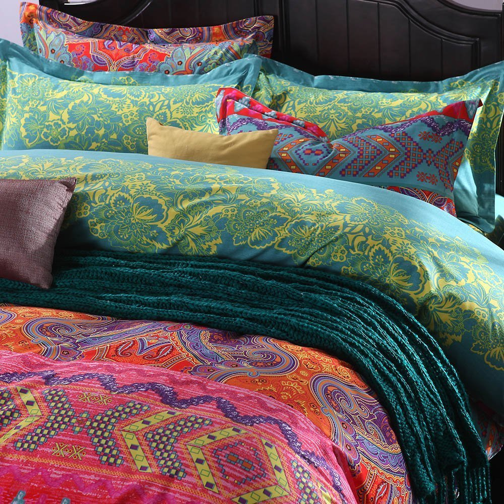 explore sets bohemian comforter style exotic foter