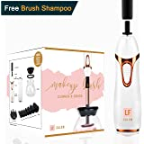 Makeup Brush Cleaner Spinner - Automatic Electronic Cleaner and Dryer Includes Free Makeup Brush Cleaner Solution   Spinning Electric Makeup Brush Cleaner and Dryer Machine by LF Salon