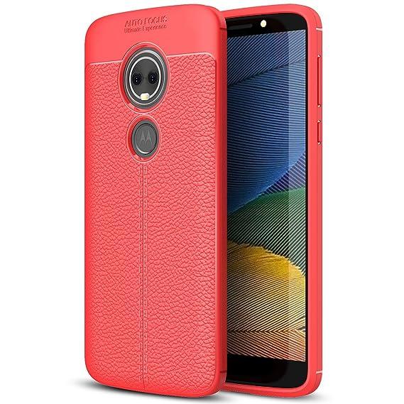 Amazon.com: Moto G6 Play Case, Moto G6 Play Leather Case ...