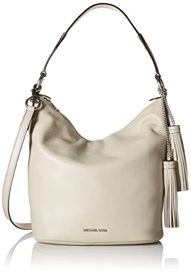 4a212aa02c82 MICHAEL Michael Kors Women s Elana Large Convertible Shoulder Cement Handbag