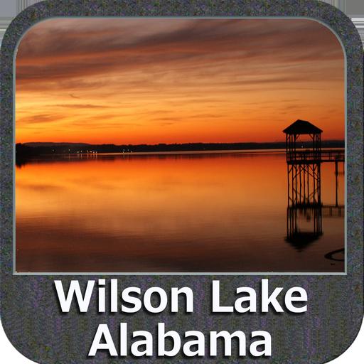 Wilson Lake- Alabama GPS Map Navigator (Fishing Gps Software)