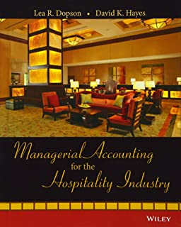 Hospitality management accounting martin g jagels 8601400069790 managerial accounting for the hospitality industry fandeluxe Choice Image