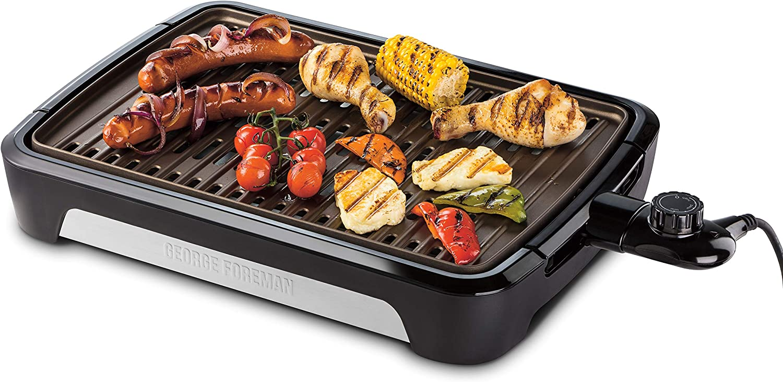 George Foreman Barbecue Grill 2000W, Utilisation Intérieur