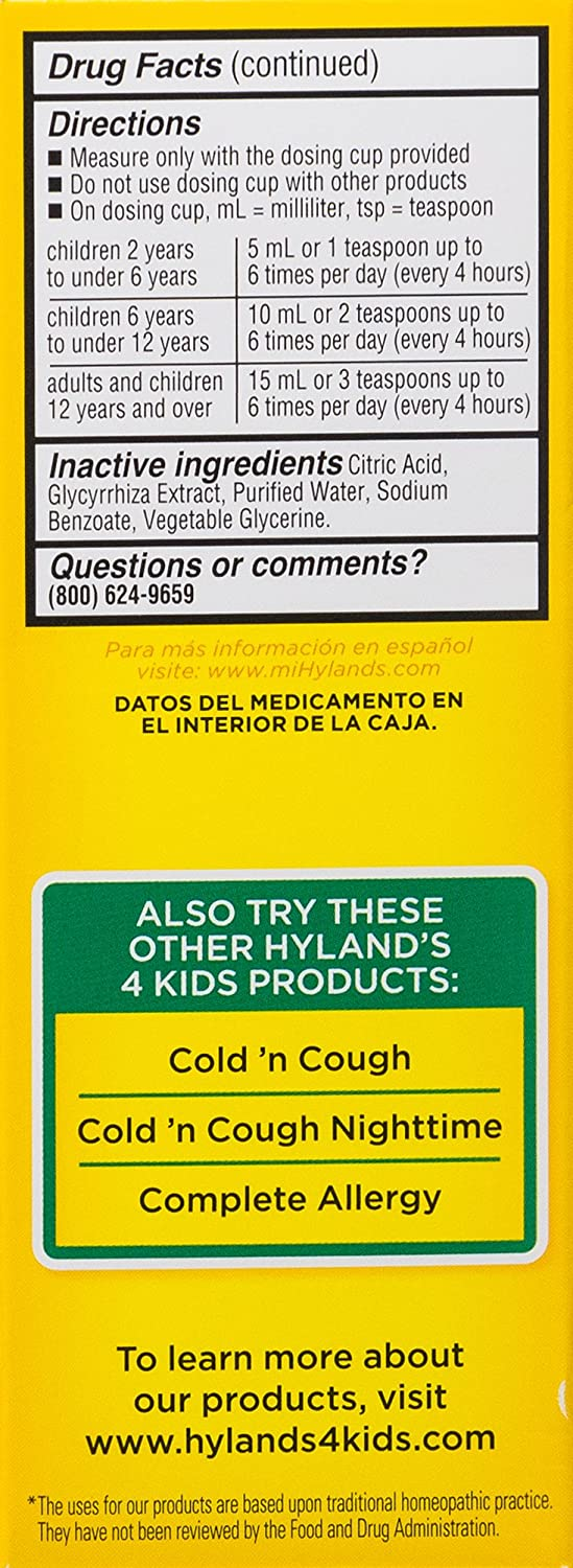Amazon hylands 4 kids cold n mucus relief liquid natural amazon hylands 4 kids cold n mucus relief liquid natural relief of mucus congestion runny nose cough 4 ounces health personal care nvjuhfo Image collections