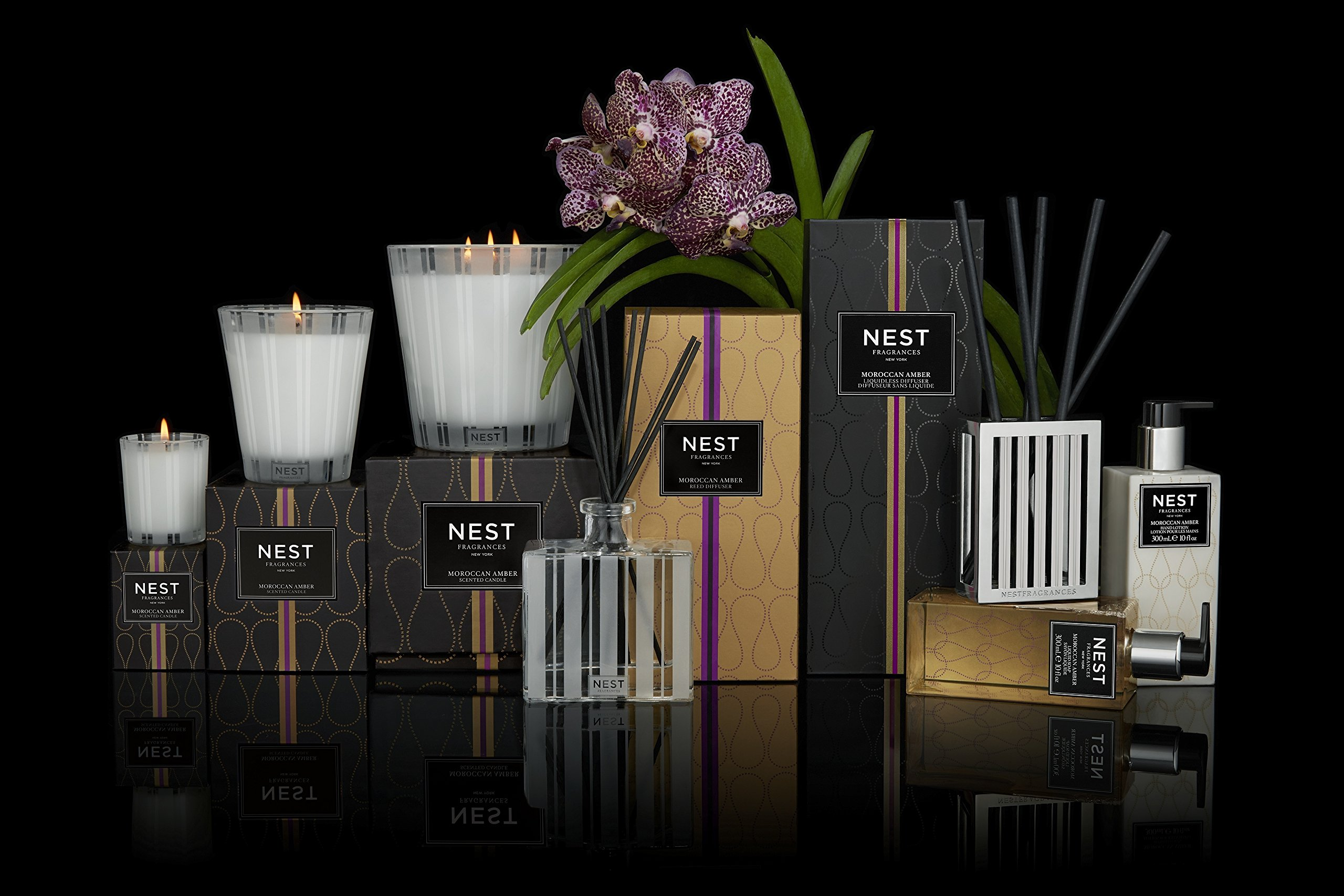 NEST Fragrances Moroccan Amber Luxury Diffuser by NEST Fragrances (Image #2)