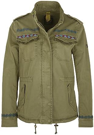 Blonde No.8 Damen Jacke khaki normale Passform leicht