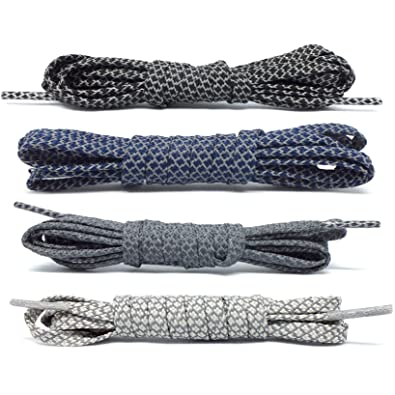 67800fdbe0174 Four REDUX 3M Reflective FLAT 90cm Shoelaces for Adidas NMD, Ultraboost,  Nike Roshe - shoe laces fit 3 to 4 eyelet hole pairs