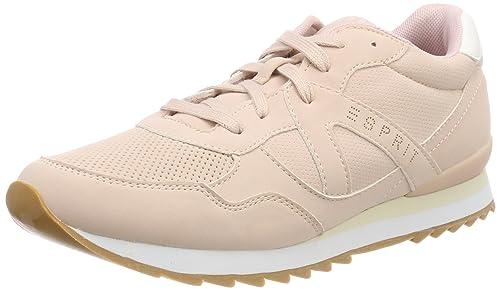 Esprit Astro Lace Up, Zapatillas para Mujer, Gris (Medium Grey), 40 EU