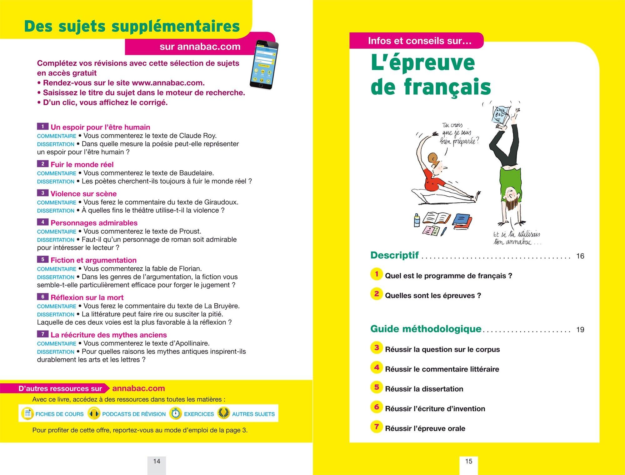 Annales Annabac 2018 Français 1re L, ES, S: sujets et corrigés du bac Première séries générales: Amazon.es: Sylvie Dauvin, Jacques Dauvin: Libros en idiomas ...