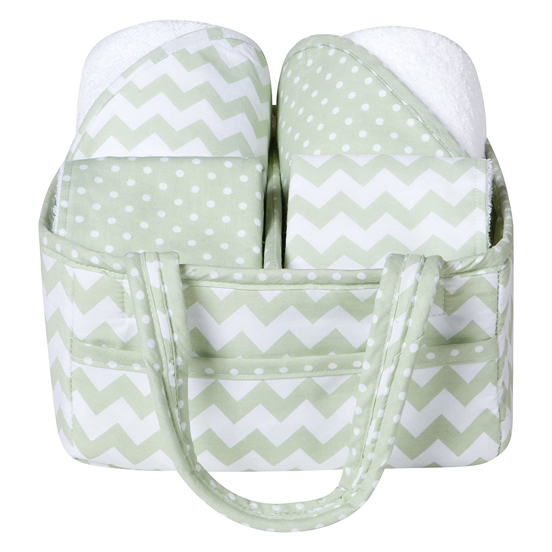 Sea Foam 5 Piece Baby Bath Gift Set