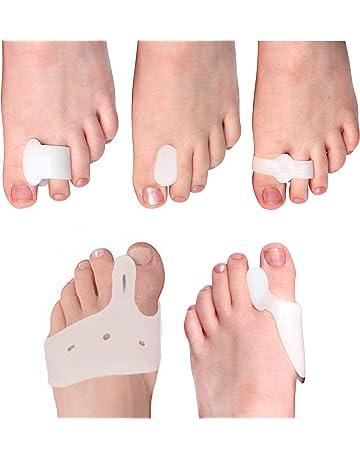 (10 Piece) 5 Pair Dedo y Splint Separator Relief Bunions - bunion corrección/