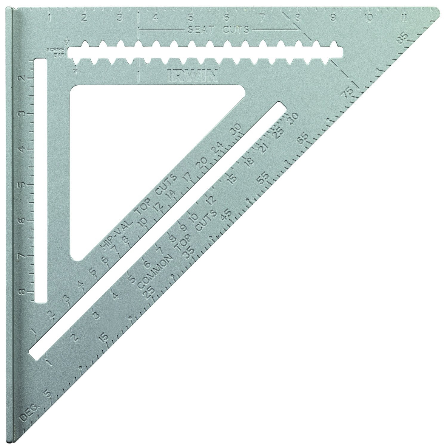 IRWIN Tools Rafter Square, Aluminum, 12-Inch (1794465)