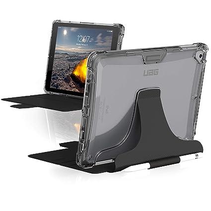 cheaper fb850 8e7e2 URBAN ARMOR GEAR UAG iPad 9.7 (2017 5th & 2018 6th Gen)/iPad Pro  9.7-inch/iPad Air/iPad Air 2 Plyo Feather-Light Rugged [Ice] Military Drop  Tested ...