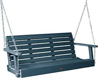 product image for highwood AD-PORW1-NBE Weatherly Porch Swing, 5 Feet, Nantucket Blue
