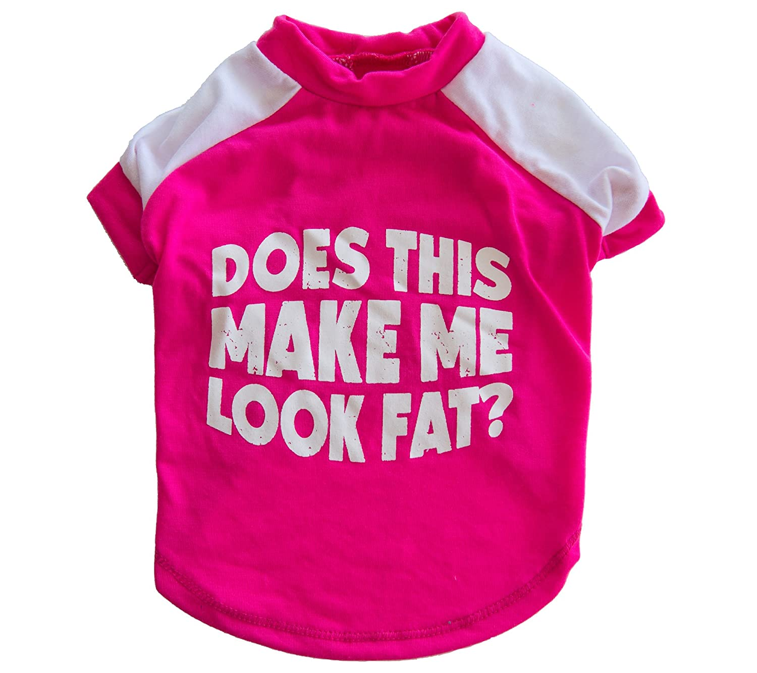 'Does This Make Me Look Fat?' Dog Tee