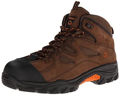 fba99a77414 Wolverine Men's Hudson W02194 Work Boot