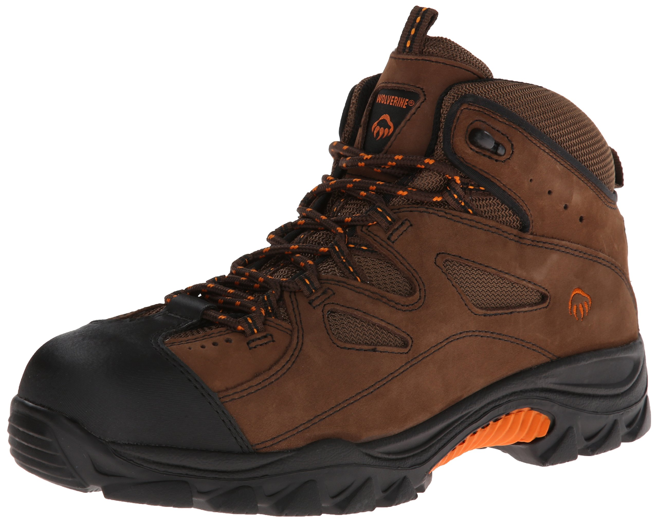 Wolverine Men's W02194 Hudson Boot, Brown/Black, 11.5 M US