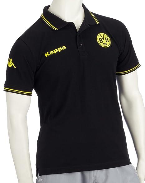 Kappa BVB - Fan Polo, Black Negro Negro Talla:Medium: Amazon.es ...