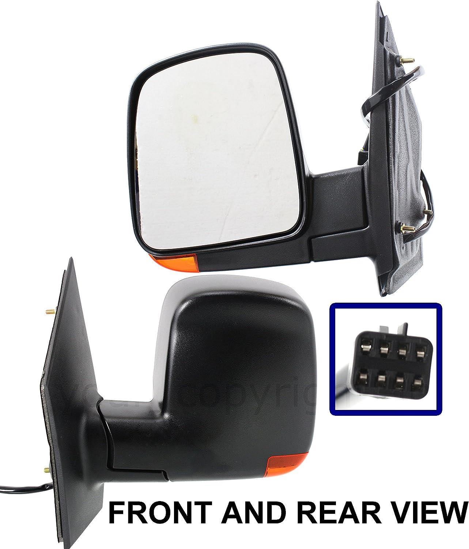 03-08 Chevy Express Van Power Heat Turn Signal Lamp Mirror Right Passenger Side