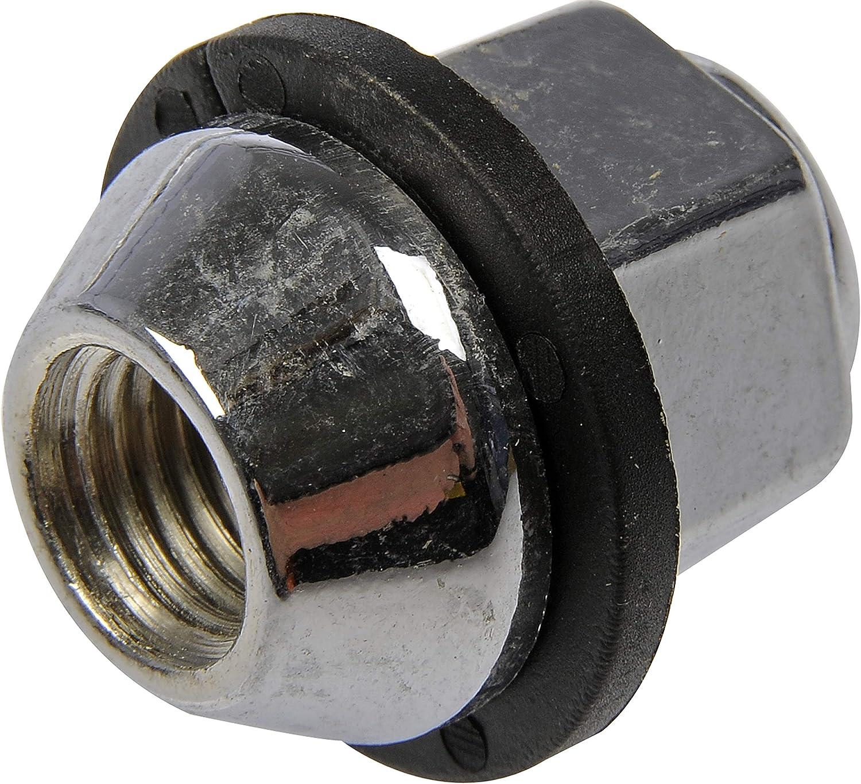 21mm Hex 30.25mm Length for Select Kia Models Chrome Dorman 611-209 Wheel Nut M12-1.50 Acorn