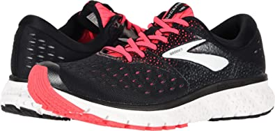 9cf923e2ac7 Image Unavailable. Image not available for. Color  Brooks Women s Glycerin  16 Black Pink Grey ...