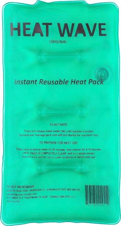 Heat Wave Instant Reusable Heat Pack - Medium Value Pack - Premium ...