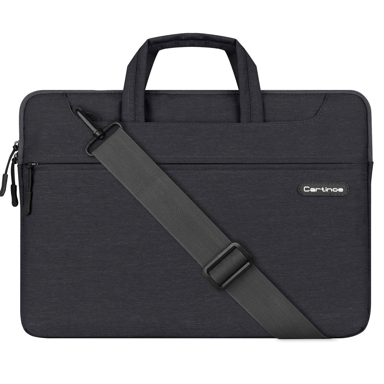 Laptop Bag, Cartinoe 15.6 Inch Laptop Briefcase Shoulder Bag Messenger Bag Sleeve Case for Dell Alienware / Macbook / Lenovo / Lenovo HP Chromebook Ultrabook, Travelling, Business, College and Office