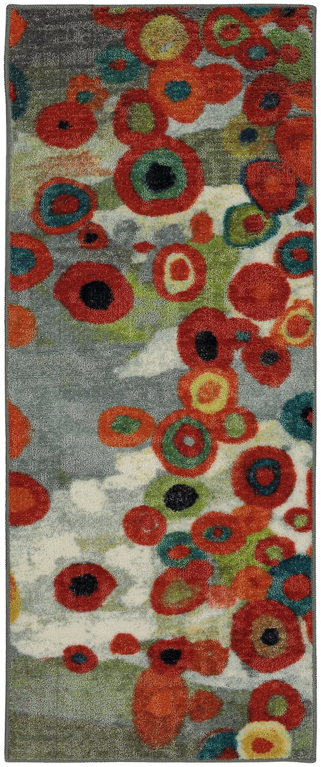 Mohawk Home Strata Tossed Floral Multi Rug, 2'x5'