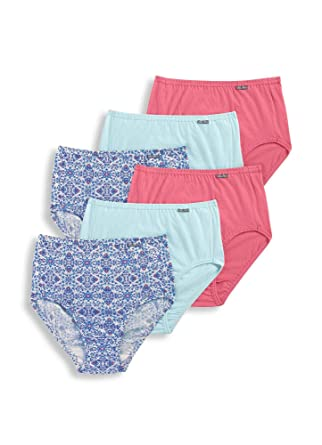 979beb93551f Jockey Women's Underwear Elance Brief - 6 Pack at Amazon Women's Clothing  store:
