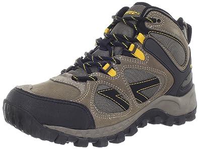 Men Hiking Shoes Hi Tec Men Smokey Brown/Taupe/Orange Shoes Online