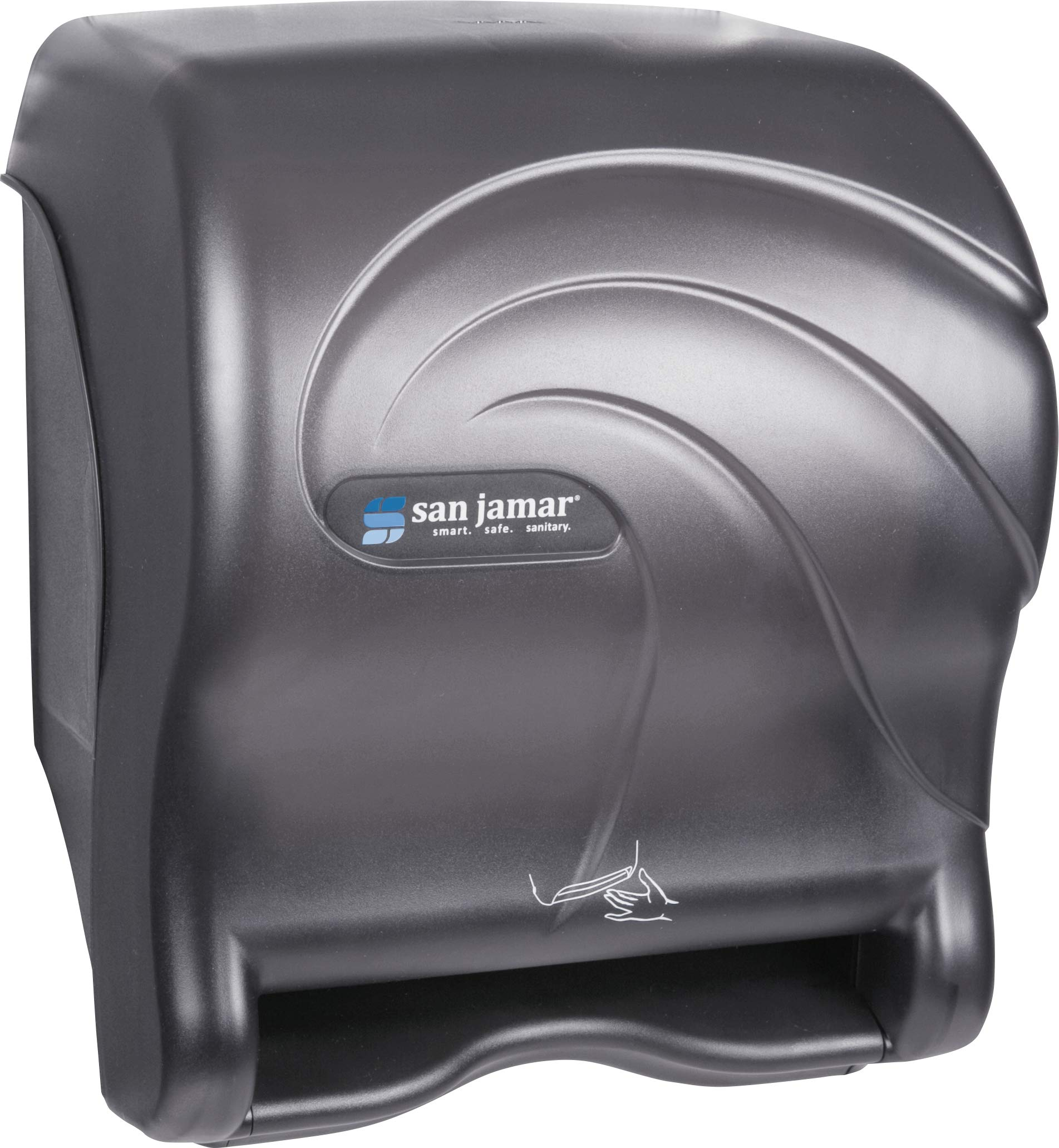 San Jamar T8490TBK Smart Essence Oceans Hands Free Paper Towel Dispenser, Black Pearl by San Jamar (Image #3)