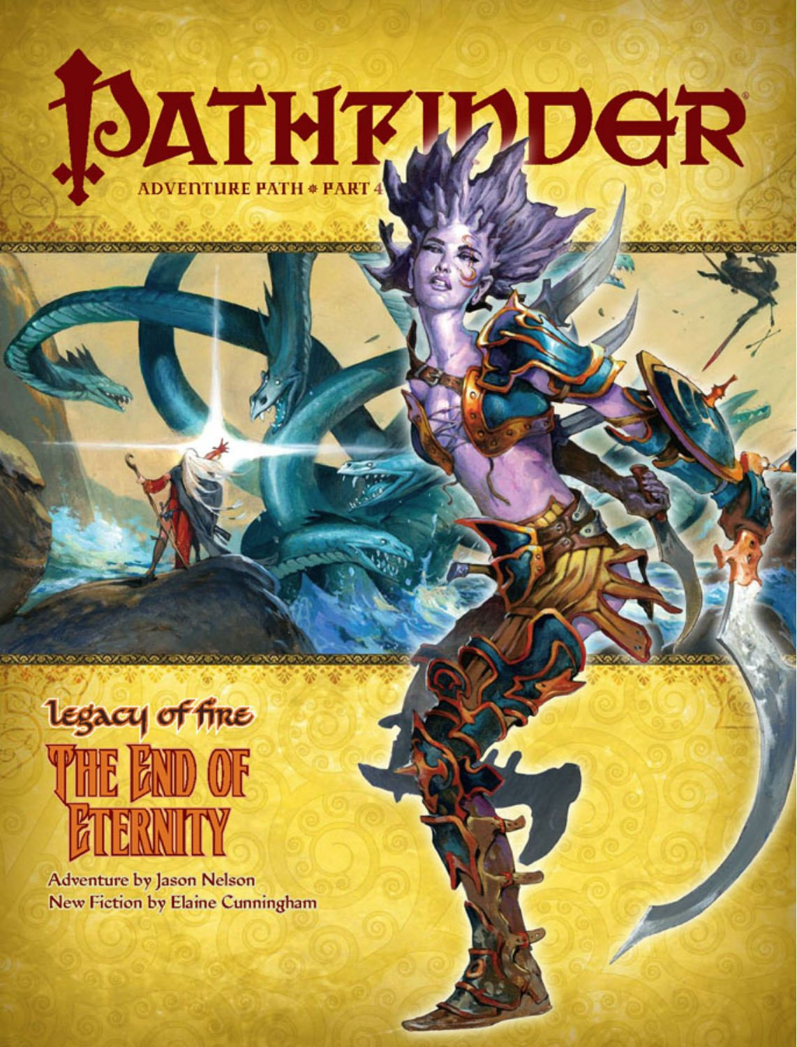 Read Online Pathfinder Adventure Path: Legacy of Fire #4 - The End of Eternity pdf