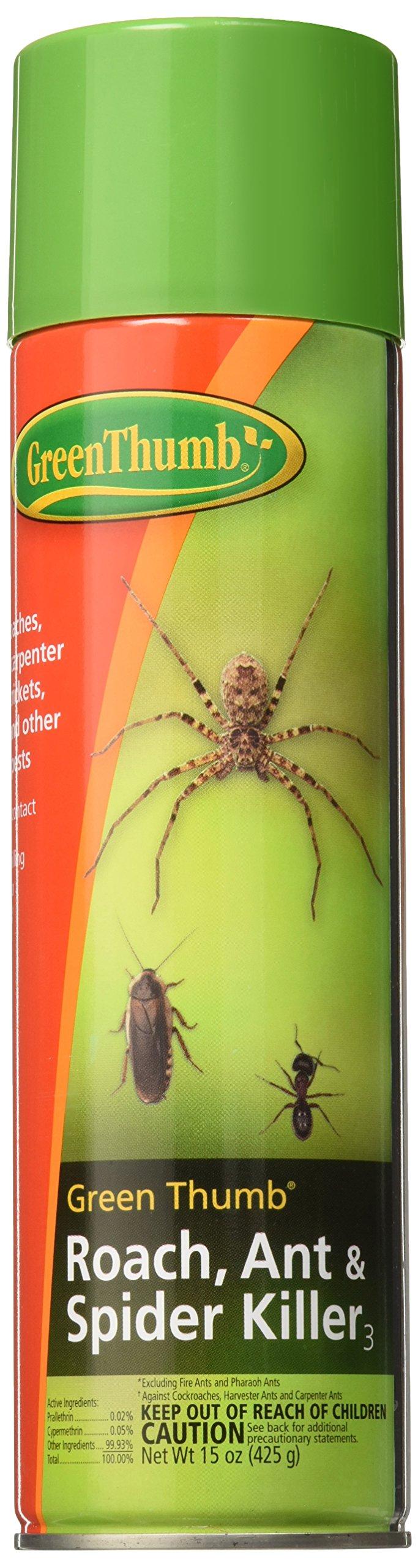 Spectrum Brands 596700A Pet Home & Garden Thumb Roach Killer, 15 oz, Green