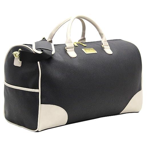 dfe317f06762 Amazon.com  Nicole Miller Sharon City Duffel Bags (Sharon City Black ...