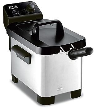 Freidora semiprofesional Easy Pro 3 L Tefal FR331070, zona fría y tapa de almacenaje de color gris/negro.: Amazon.es: Hogar