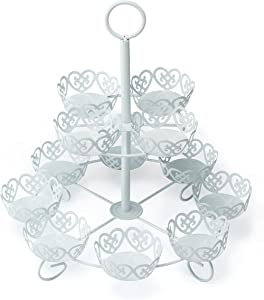 12 Count Cupcake Stand Holder Display by Cooking Upgrades