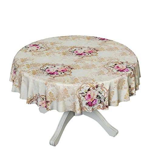 OILCLOTH TABLECLOTH WIPE CLEAN COTTON Oilcloth Tablecloth Wipe Clean  25u0026nbsp;MOTIFS In Round And Oval