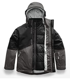 8cba209dadc4 The North Face Kids Boy s Boundary Triclimate¿ Jacket (Little Kids Big Kids)