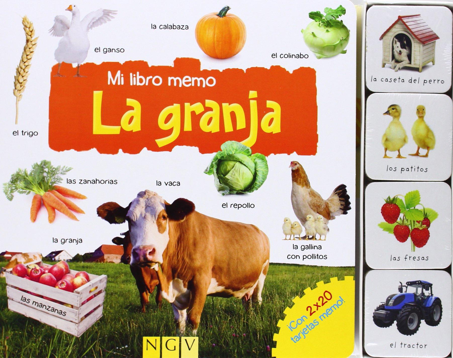 LA GRANJA MI LIBRO MEMO - NGV (Spanish) Hardcover – 2013
