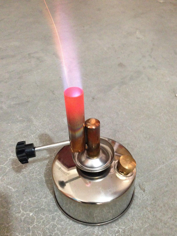 KimLab Alcohol Blast Brass Alcohol Lamp Blow Torch 250ml for Lab